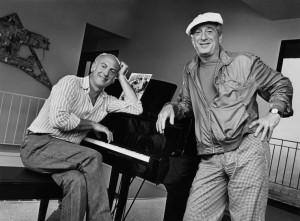 Songwriters Jerry Leiber & Mike Stoller Portrait Session